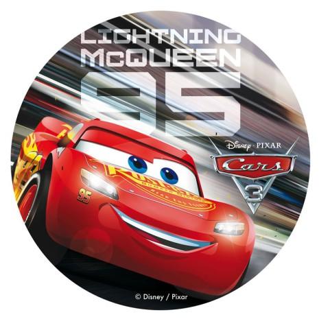 Blixten McQueen, Tårtbild