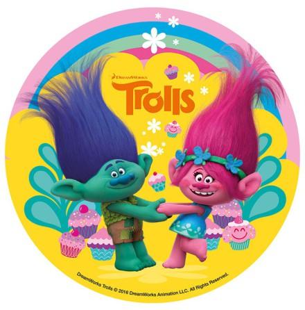 Trolls, tårtbild