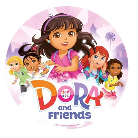 Dora, tårtbild