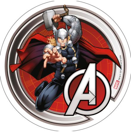 Avengers Thor tårtbild