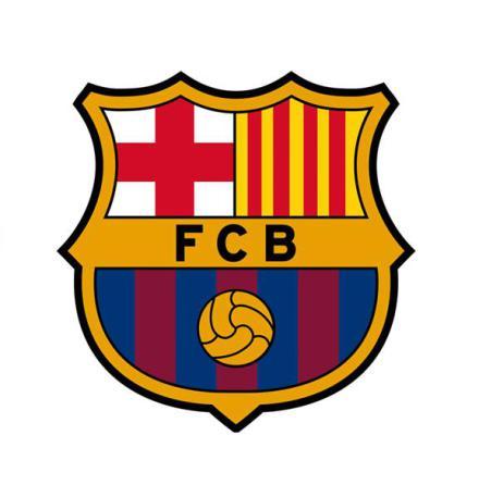 Barcelona tårtbild