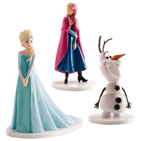 Set med Olof, Elsa & Anna från Frost