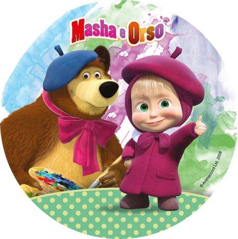 Masha & björnen Tårtbild