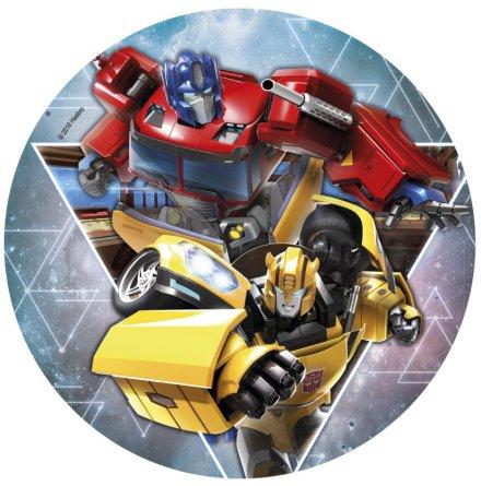 Transformers Tårtbild