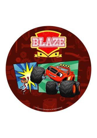 Blaze, Tårtbild