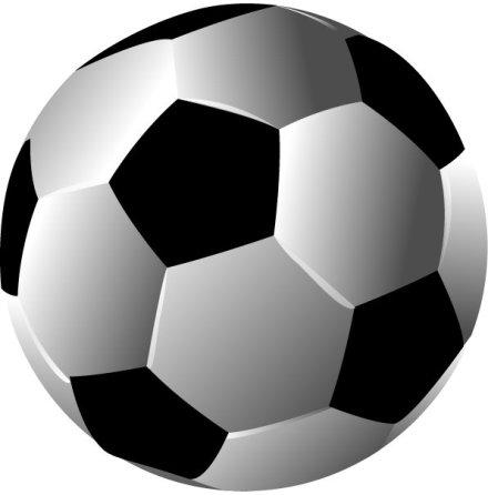 Fotboll, rund ätbar tårtbild