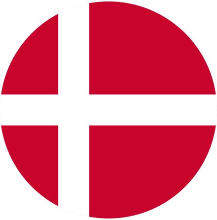 Danmark tårtbild