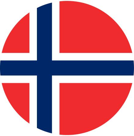 Norge tårtbild