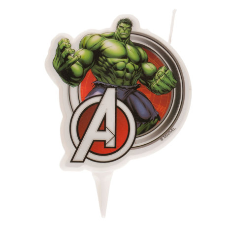 Avengers Hulken tårtljus