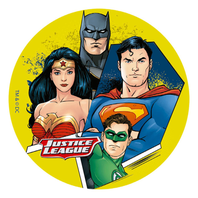 Justice League tårtbild