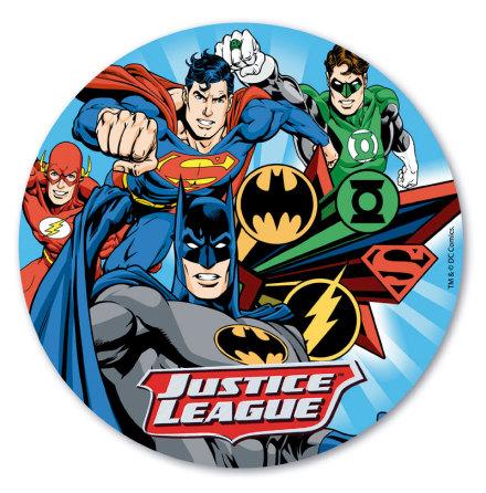 Justice League, Tårtbild