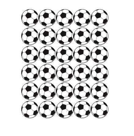 Fotboll Muffinsbild