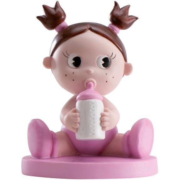 Baby rosa nappflaska